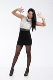 Sekretärmädchen Stockbild