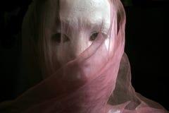 sekret serii biała kobieta kobietę obraz stock