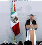 Sekretarka wnętrze, Miguel anioł Osorio Chong Obraz Stock