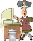 sekreterare Royaltyfria Bilder