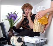 sekreterare för dag s Arkivbilder