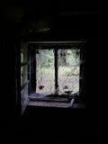 sekretne okno Obraz Royalty Free