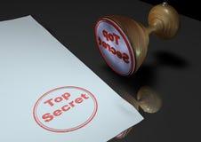sekretu znaczka wierzchołek ilustracji