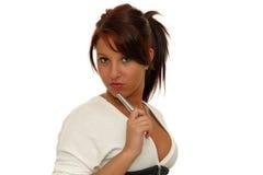 Seksowna biznesowa kobieta fotografia stock