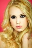 seksowna blond dziewczyna Obraz Royalty Free