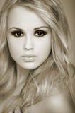 seksowna blond dziewczyna Zdjęcie Stock