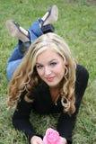 seksowna blondynka Fotografia Stock