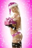 seksowna Boże Narodzenie czerwień Zdjęcie Stock