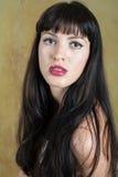 Seksowna brunetka fotografia royalty free