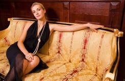 seksowna dziewczyna blond fotografia stock