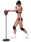 seksowna dziewczyna fizyczny fitness Obraz Stock