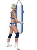 seksowna dziewczyna fizyczny fitness Obrazy Stock