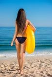 seksowna dziewczyna plażowa Zdjęcia Stock