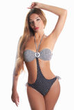 Seksowna dziewczyna w bikini Fotografia Stock