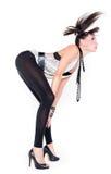 Seksowna dziewczyna w leggings Obrazy Stock