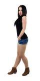 Seksowna dziewczyna z seksownymi cajgami Zdjęcie Royalty Free