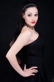 seksowna elegancka kobieta zdjęcia royalty free