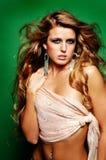 seksowna fashion girl zdjęcie stock