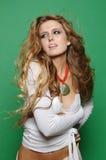 seksowna fashion girl zdjęcie royalty free