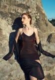 seksowna fashion girl zdjęcia royalty free