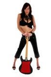 seksowna gwiazda rock Fotografia Royalty Free