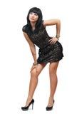 Seksowna kobieta przy pełną długością Obrazy Stock