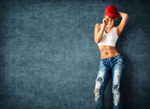 Seksowna młoda kobieta fotografia royalty free