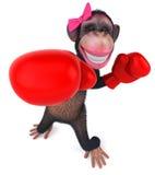 Seksowna małpa ilustracji