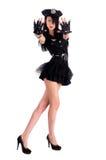 Seksowna milicyjna kobieta Fotografia Royalty Free