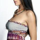 seksowna neckline kobieta s Fotografia Stock