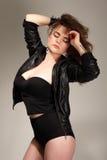 Seksowna piękna kobieta Zdjęcia Stock