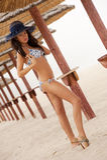 seksowna plażowa dziewczyna Zdjęcie Stock