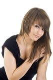 seksowna portret kobieta Obraz Stock