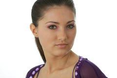 seksowna portret kobieta Zdjęcia Stock