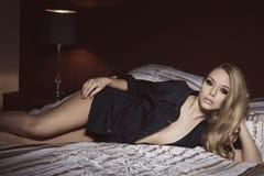 seksowna sypialni kobieta Obraz Royalty Free