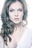 seksowna twarzy dziewczyna Obrazy Royalty Free