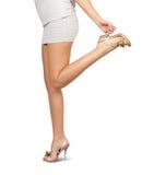 seksowne żeńskie nogi Obrazy Stock