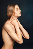 seksowne kobiety nago Fotografia Royalty Free