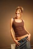 seksowne kobiety young Fotografia Stock