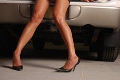 seksowne nogi Zdjęcia Stock