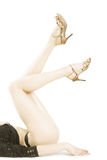 seksowne nogi Obrazy Royalty Free