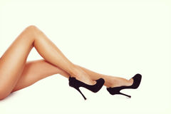 seksowne nogi Fotografia Royalty Free