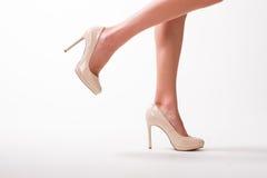 Seksowne nogi dziewczyna zdjęcia royalty free