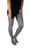 Seksowne nogi w rajstopy Fotografia Royalty Free