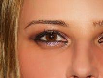 seksowne oczy Zdjęcia Stock