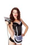 Seksownej Szpilki Seksowna Stylowa Dziewczyna w Bieliźnie Fotografia Royalty Free