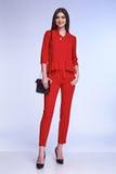 Seksowni eleganckiej kobiety piękna mody stylu naturalni ubrania przypadkowi Fotografia Stock