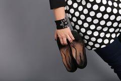 Seksowni kobieta buty Zdjęcie Stock