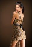 Seksowny Azjatycki piękno pozujący Zdjęcie Royalty Free