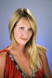 seksowny blondynki (1) headshot Zdjęcie Stock